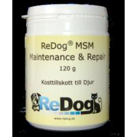 ReDog® MSM - Maintenance & Repair 120 g - RESTNOTERAD