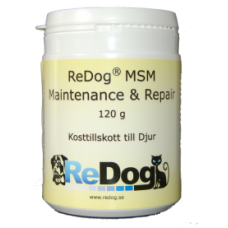 ReDog® MSM - Maintenance & Repair 120 g